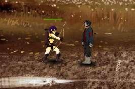 Воин против зомби