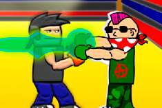 Битва брутальных боксёров