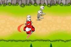 Герои 6 против скелетов