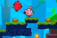 Бродилка с Angry Birds