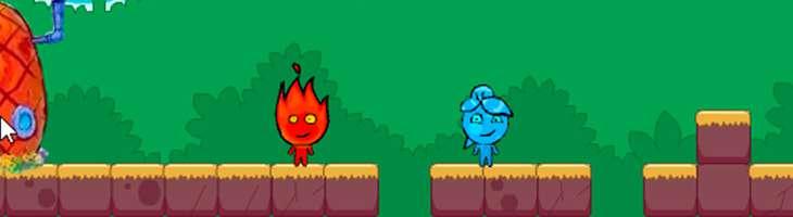 Обзор игры «Бродилки Огня и Воды» - игры на двоих