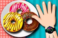 Челлендж с пончиками