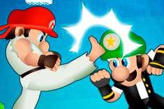 Драки Марио для девочек