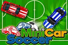 Футбол мини машинками