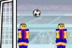 Футбол неваляшками
