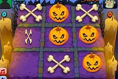 Крестики Нолики в Хэллоуин