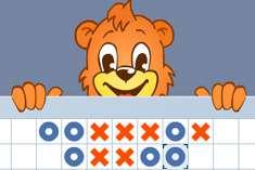 Крестики нолики с медвежонком
