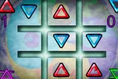 Крестики Нолики треугольниками