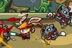 Кролики Кунг Фу