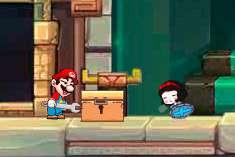 Марио в гробнице