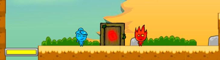 Обзор игры «Огонь и Вода в пустыне» - игры на двоих