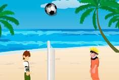 Пляжный баскетбол с Наруто