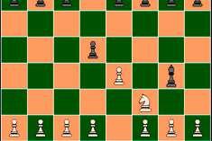 Поединок двух шахматистов