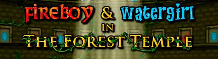 Обзор игры «Огонь и вода в храме леса» - игры на двоих