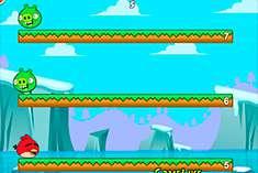 Прыжки Angry Birds