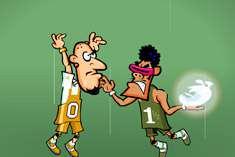 За баскетбольным мячом