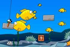 Рыбка с Энгри Бёрдс
