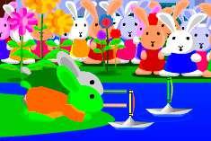 Соревнование кроликов Блуни