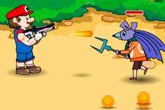 Стрелялка с Марио