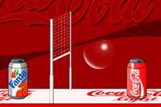 Волейбол с кока-колой