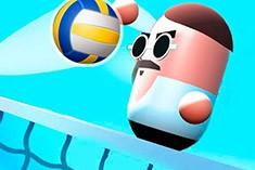 Волейбол с таблетками